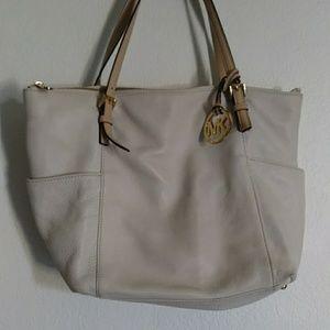 Michael Kors Cream Bag